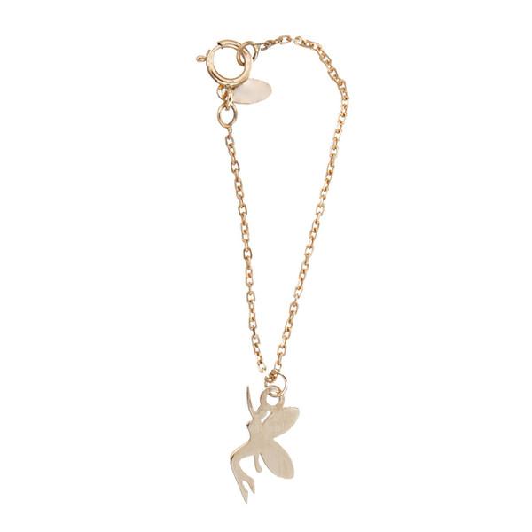 آویز ساعت طلا 18 عیار زنانه طرح فرشته کد SG552