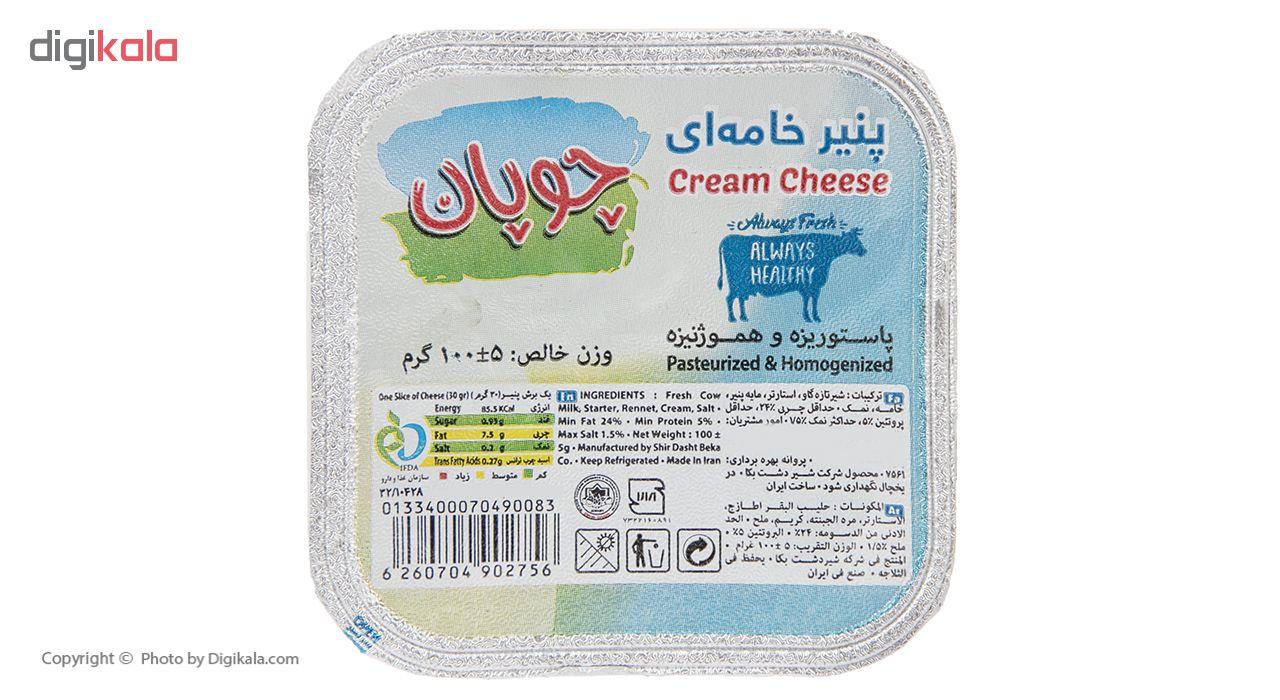 پنیر خامه ای چوپان وزن 100 گرم main 1 1