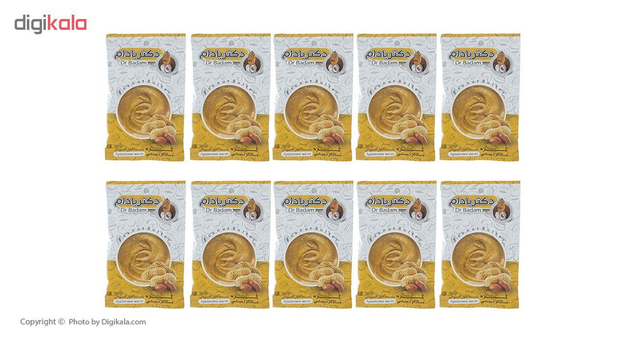 کره بادام زمینی دکتر بادام بسته 10 عددی
