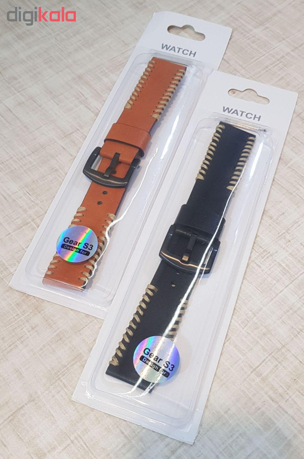 بند مدل D-01 مناسب برای ساعت هوشمند سامسونگ Gear S3 / Galaxy Watch 46mm main 1 8
