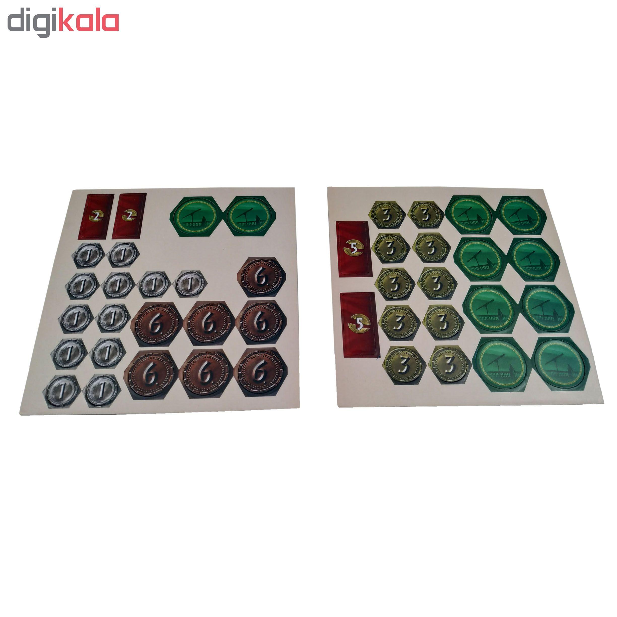 بازی فکری مدل 7Wonders duel