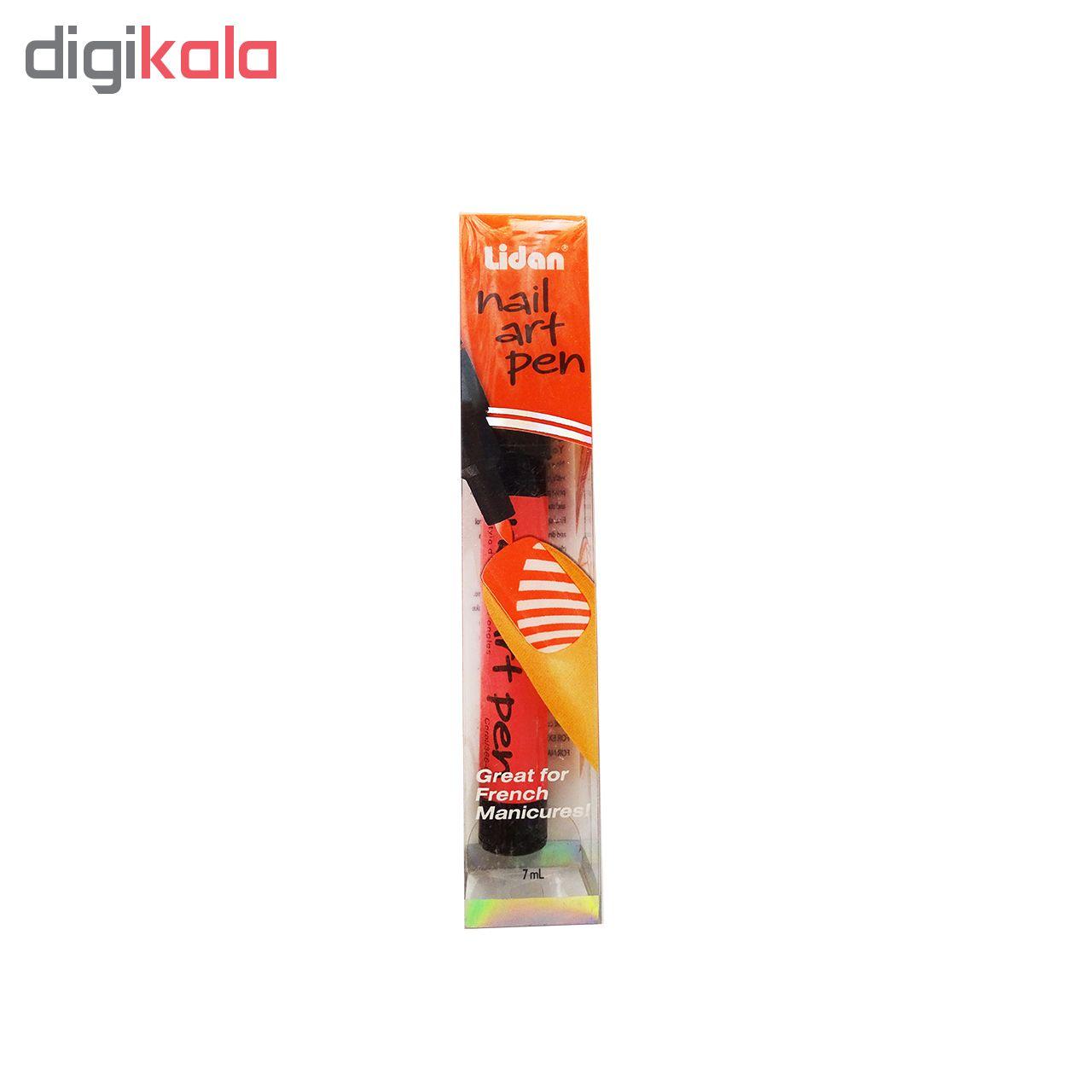 قلم طراحی ناخن لیدان مدل NAP01