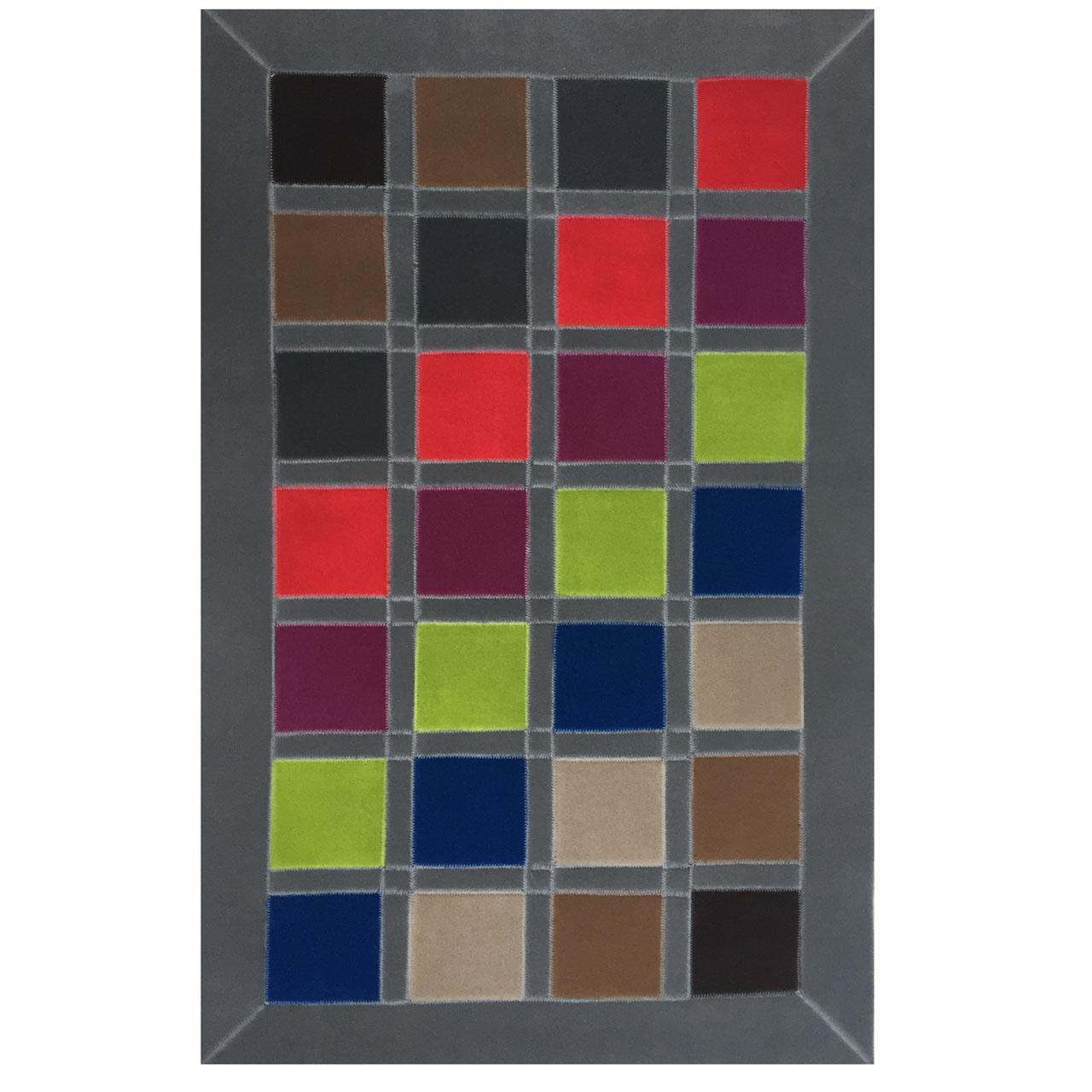 کلاژ فرش فلامینگو کارپت کد 2105