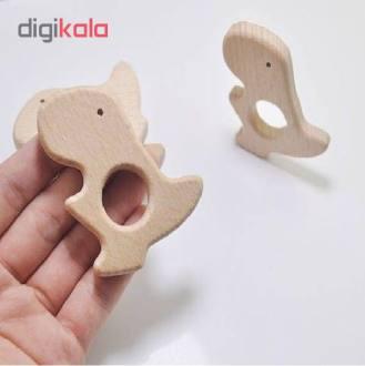 اسباب بازی چوبی طرح دایناسور مدل D1