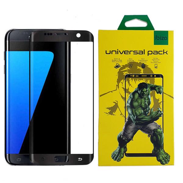 محافظ صفحه نمایش 9D ایبیزا مدل IBI7-eg مناسب برای گوشی موبایل سامسونگ Galaxy S7 Edge
