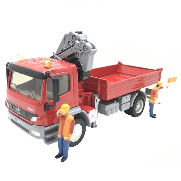 ماشین بازی سیکو - اسباب بازی طرح کامیون کمپرسی  مجموعه 3 عددی