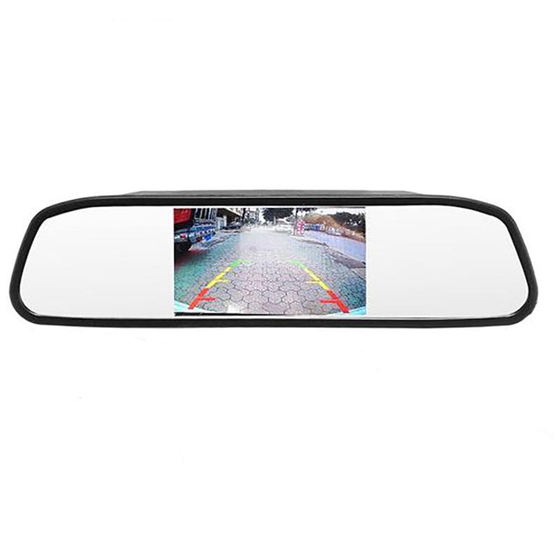 آینه مانیتور دار و دوربین دنده عقب خودرو مدل TF43