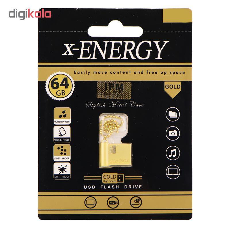 فلش مموری ایکس-انرژی مدل Gold2 ظرفیت 64 گیگابایت