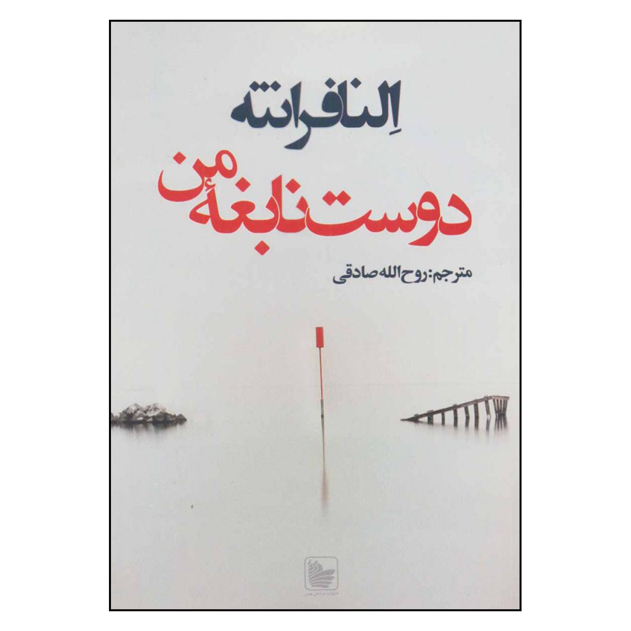 کتاب دوست نابغه من اثر النا فرانته نشر در دانش بهمن