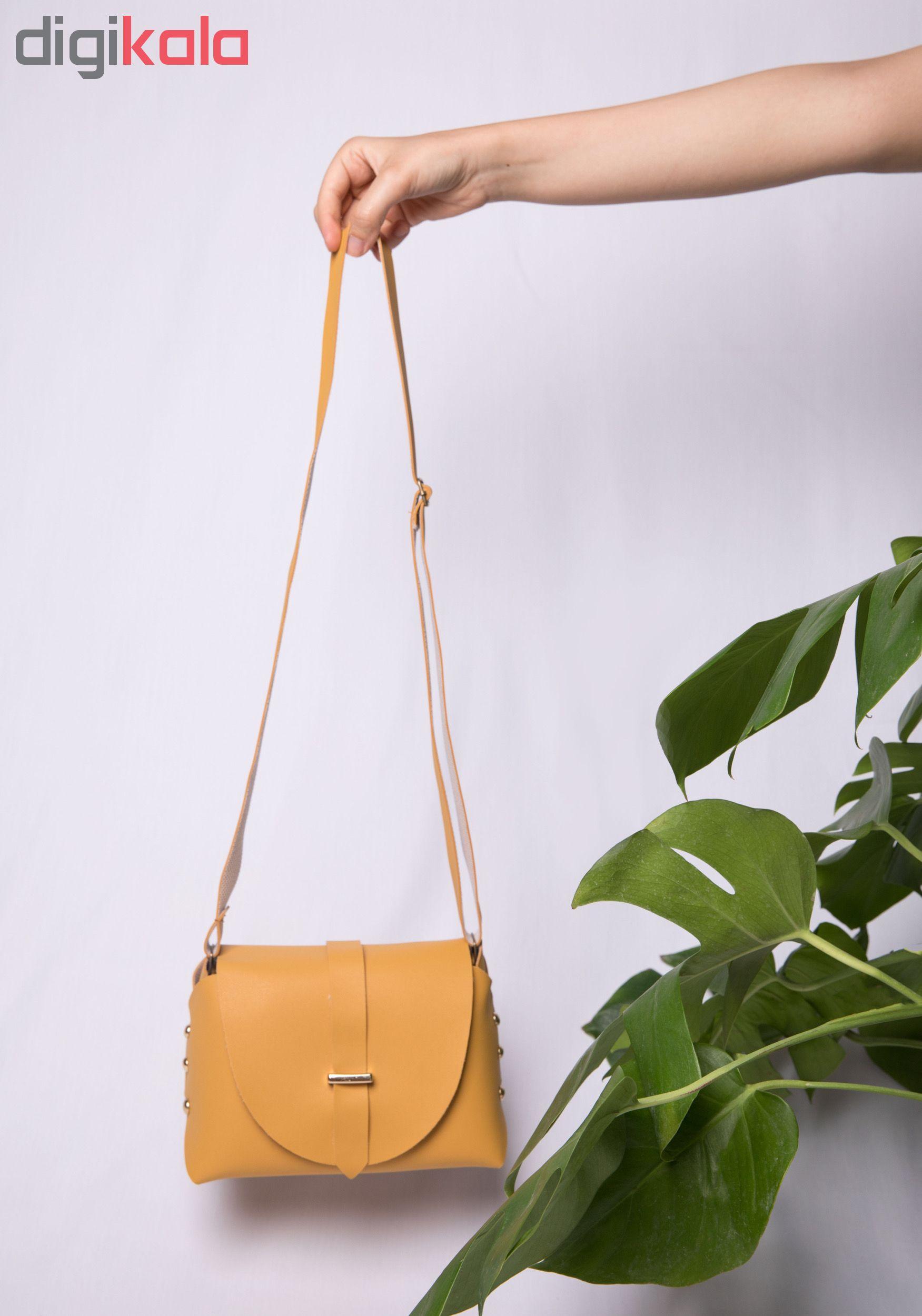 خرید اینترنتی کیف دوشی زنانه مدل روشا با قیمت مناسب