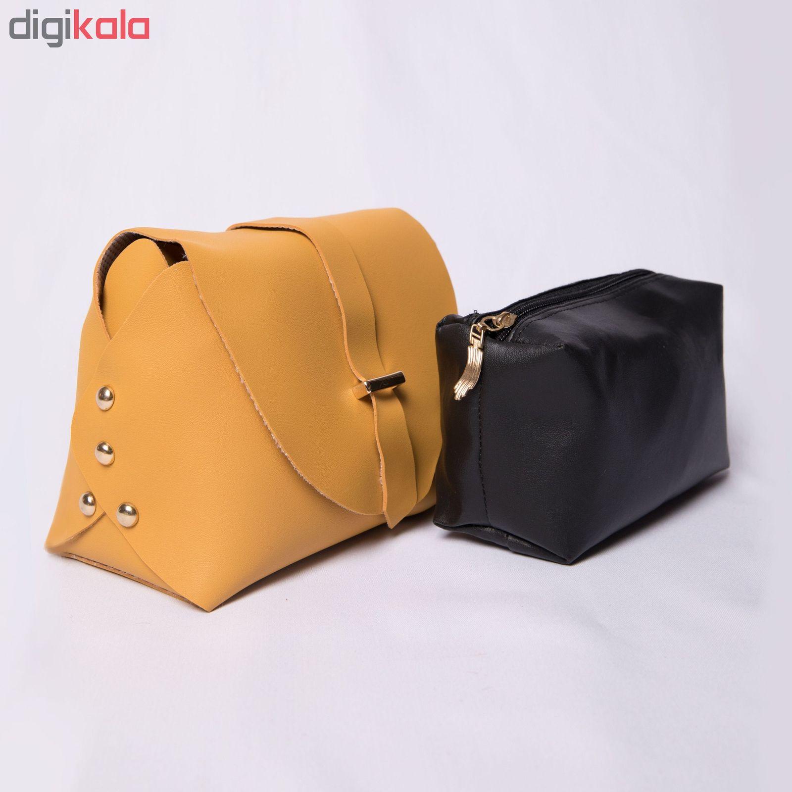 کیف دوشی زنانه مدل روشا -  - 7