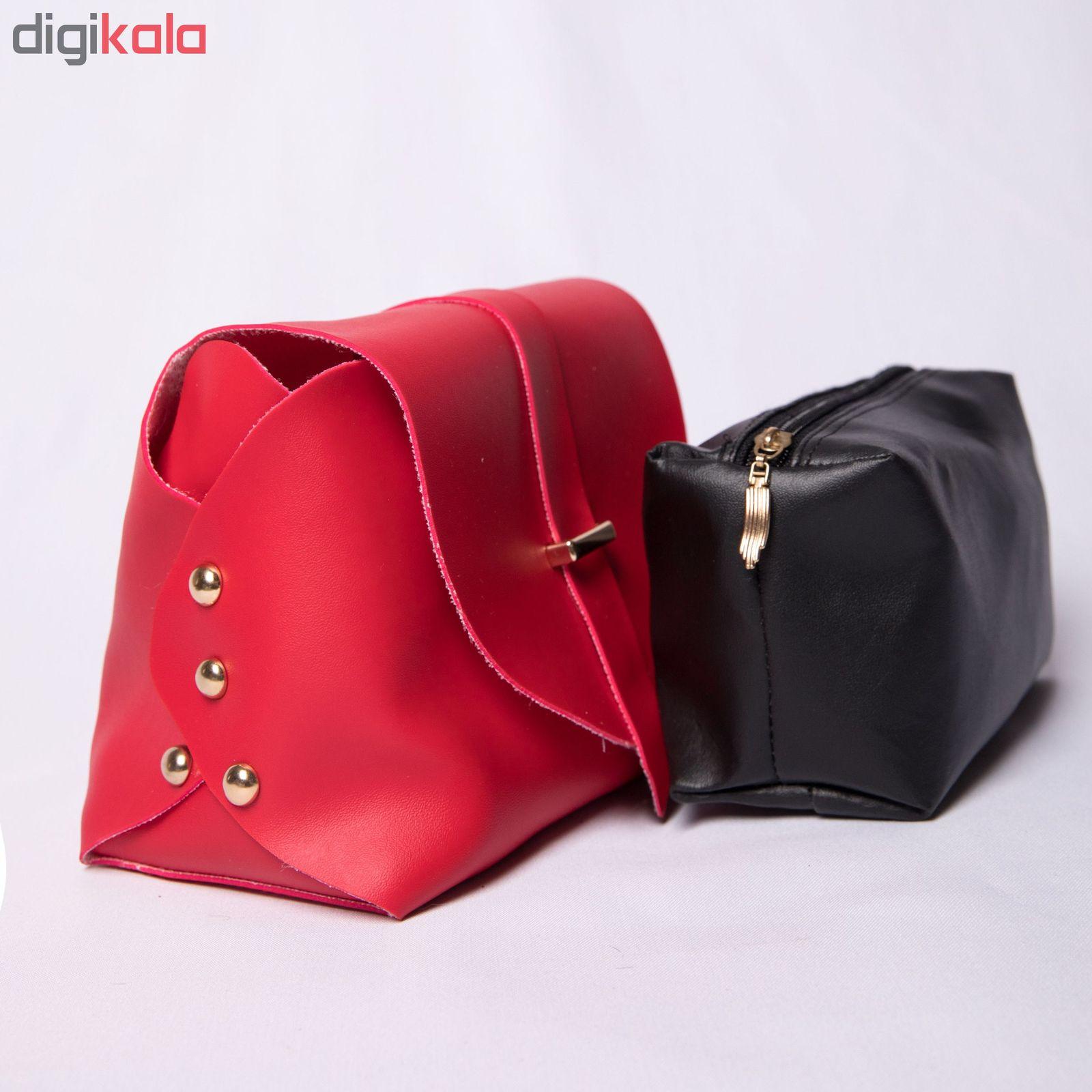 کیف دوشی زنانه مدل روشا main 1 11
