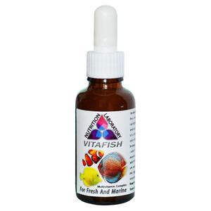 محلول مولتی ویتامین ویتافیش کد KMV01 حجم 30 میلی لیتر