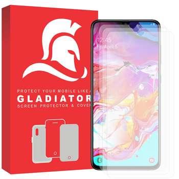 محافظ صفحه نمایش گلادیاتور مدل GLS3000 مناسب برای گوشی موبایل سامسونگ Galaxy A70 بسته سه عددی