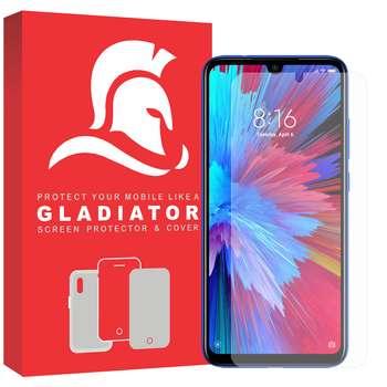 محافظ صفحه نمایش گلادیاتور مدل GLX1000 مناسب برای گوشی موبایل شیائومی Redmi Note 7