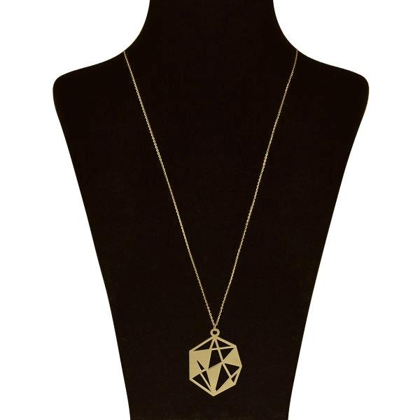 گردنبند نقره زنانه کد UN002