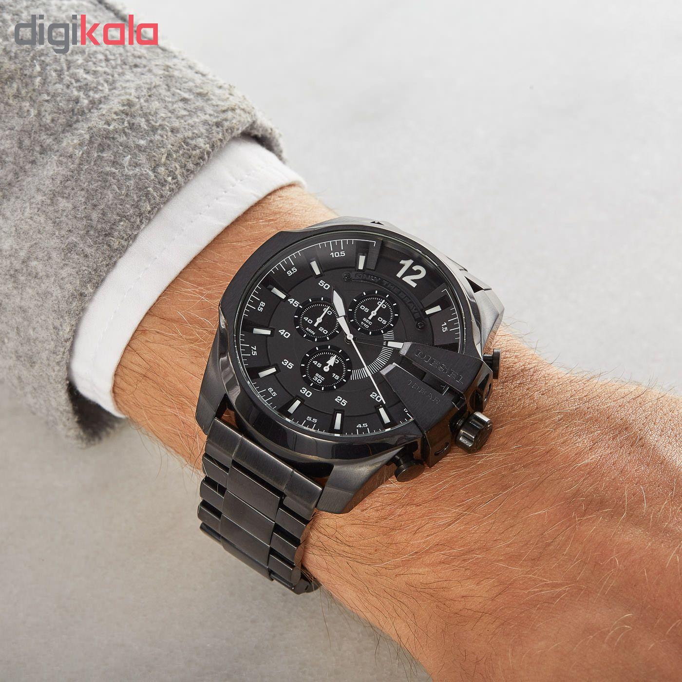 کد تخفیف                                      ساعت مچی عقربه ای مردانه دیزل کد DZ4283