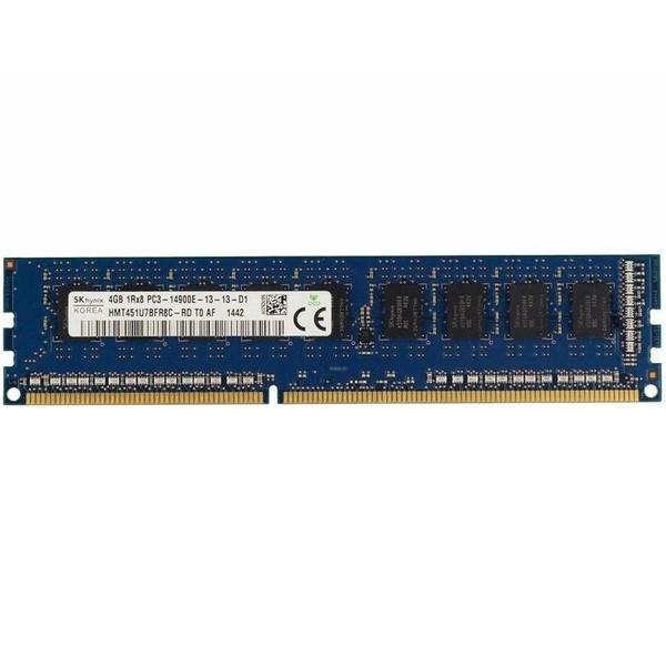 رم سرور DDR3 تک کاناله 1866 مگاهرتز CL13 اس کی هاینیکس مدل HMT451U7BFR8C-RD ظرفیت 4 گیگابایت