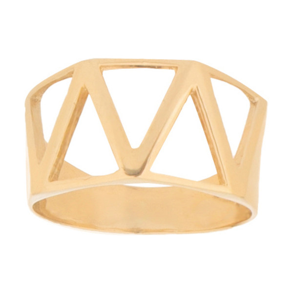 انگشتر طلا 18 عیار زنانه میو گلد مدل RG61