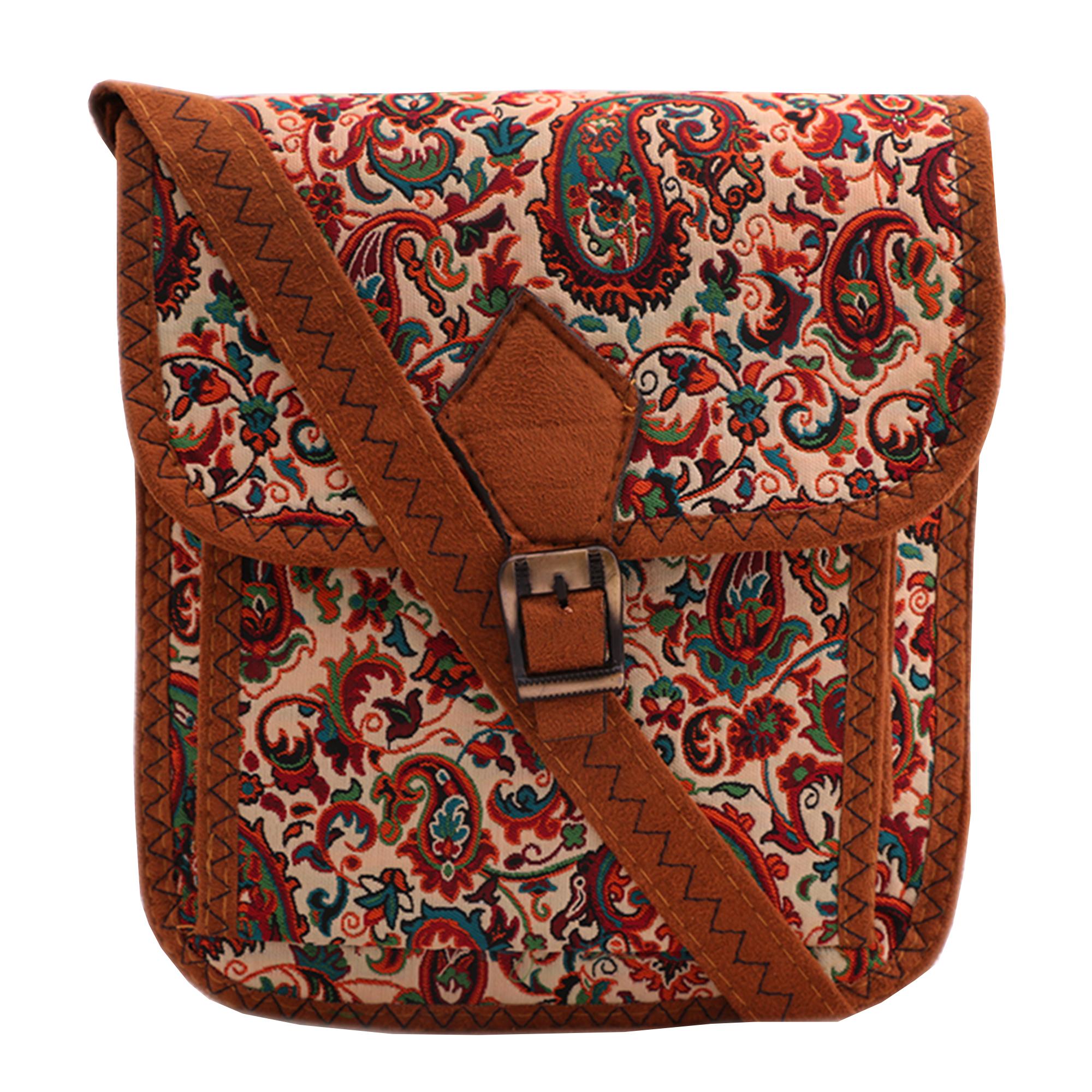 کیف دوشی زنانه کد 4002