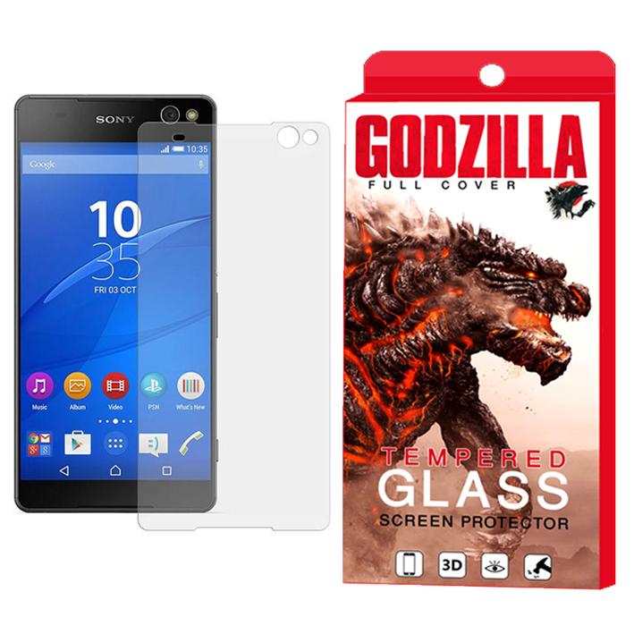 محافظ صفحه نمایش گودزیلا مدل GGS مناسب برای گوشی موبایل سونی Xperia C5