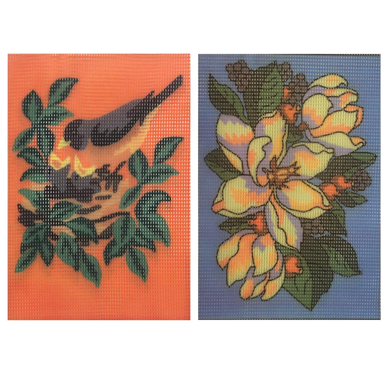 خرید                       کوبلن طرح گل کد 8j مجموعه 2 عددی به همراه سوزن