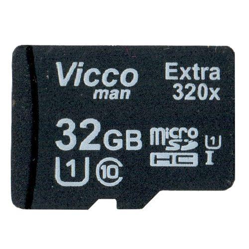 کارت حافظه microSDHC ویکومن مدل Extre 320X کلاس 10 استاندارد UHS-I U1 سرعت 48MBps ظرفیت 32 گیگابایت