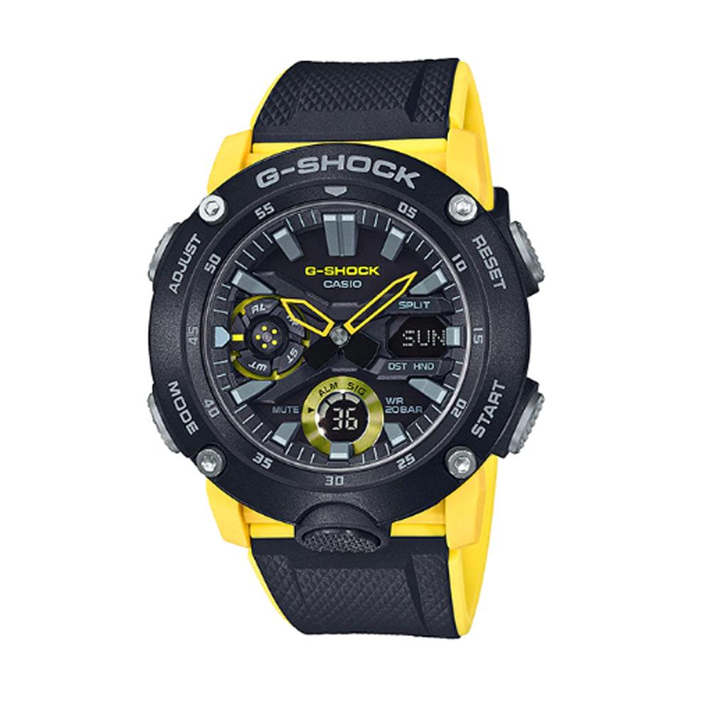 کد تخفیف                                      ساعت عقربه ای مردانه کاسیو مدل جی شاک کد ga-2000-1a9