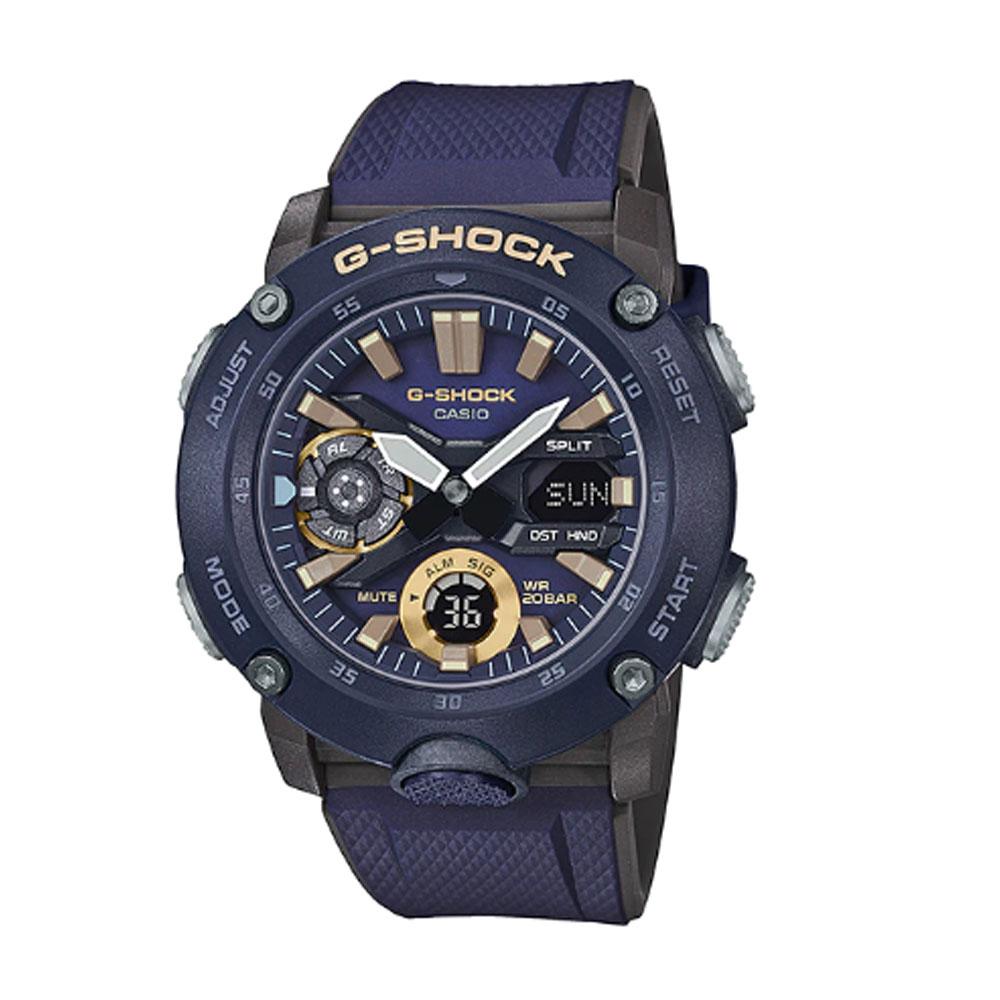 ساعت عقربه ای مردانه کاسیو مدل جی شاک کد ga-2000-2a