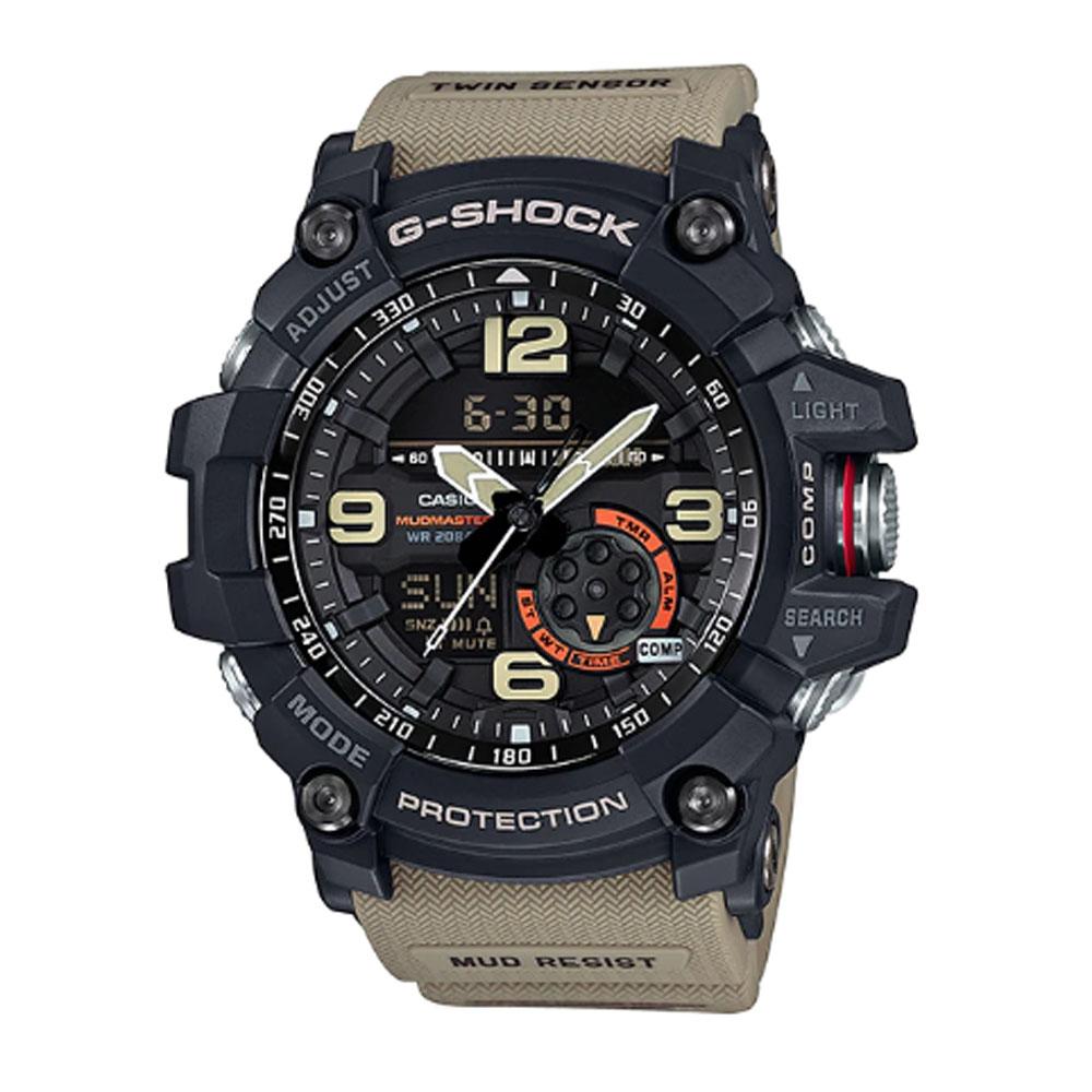 قیمت و خرید                      ساعت عقربه ای مردانه کاسیو مدل جی شاک کد gg-1000-1a5