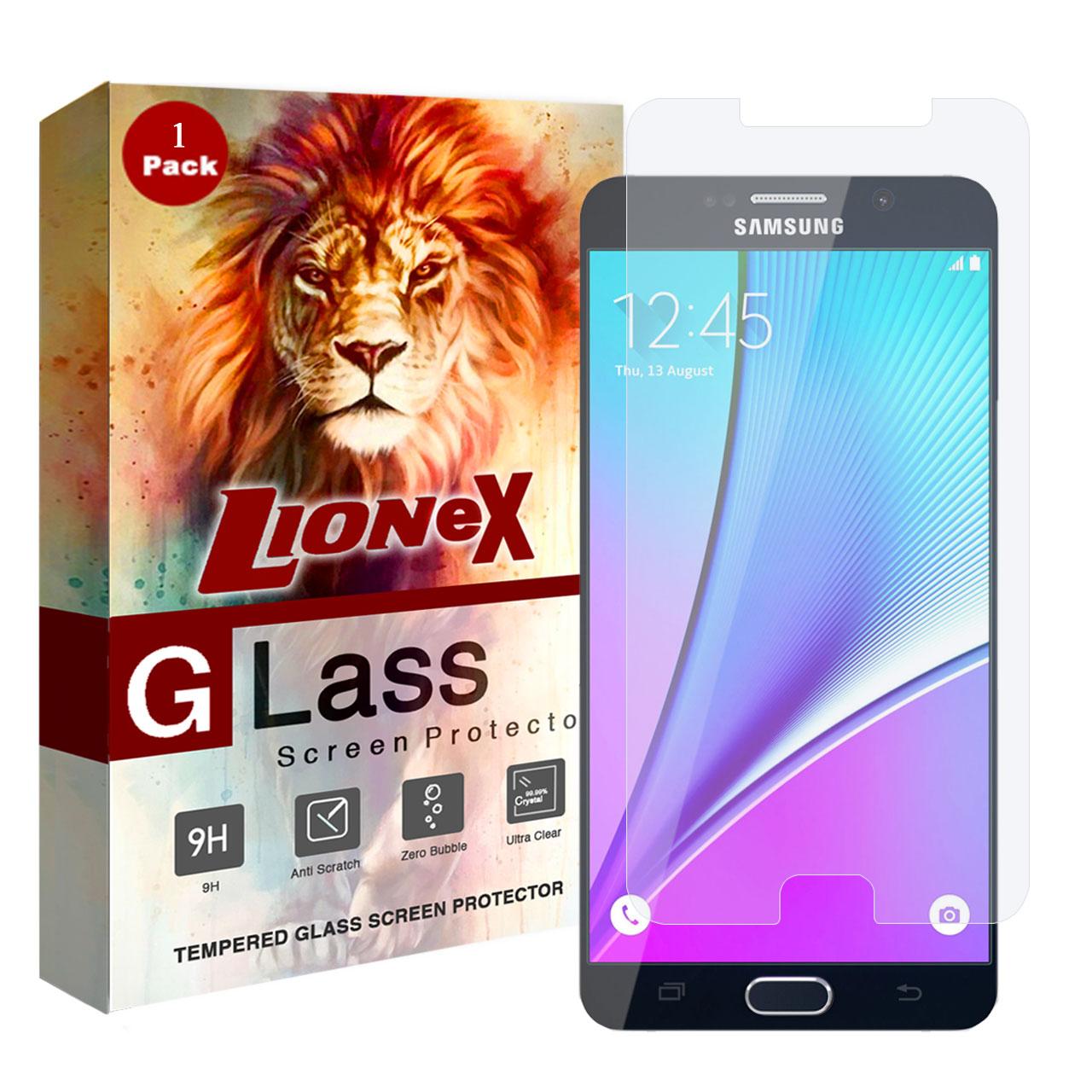 محافظ صفحه نمایش لایونکس مدل UPS مناسب برای گوشی موبایل سامسونگ Galaxy Note 5