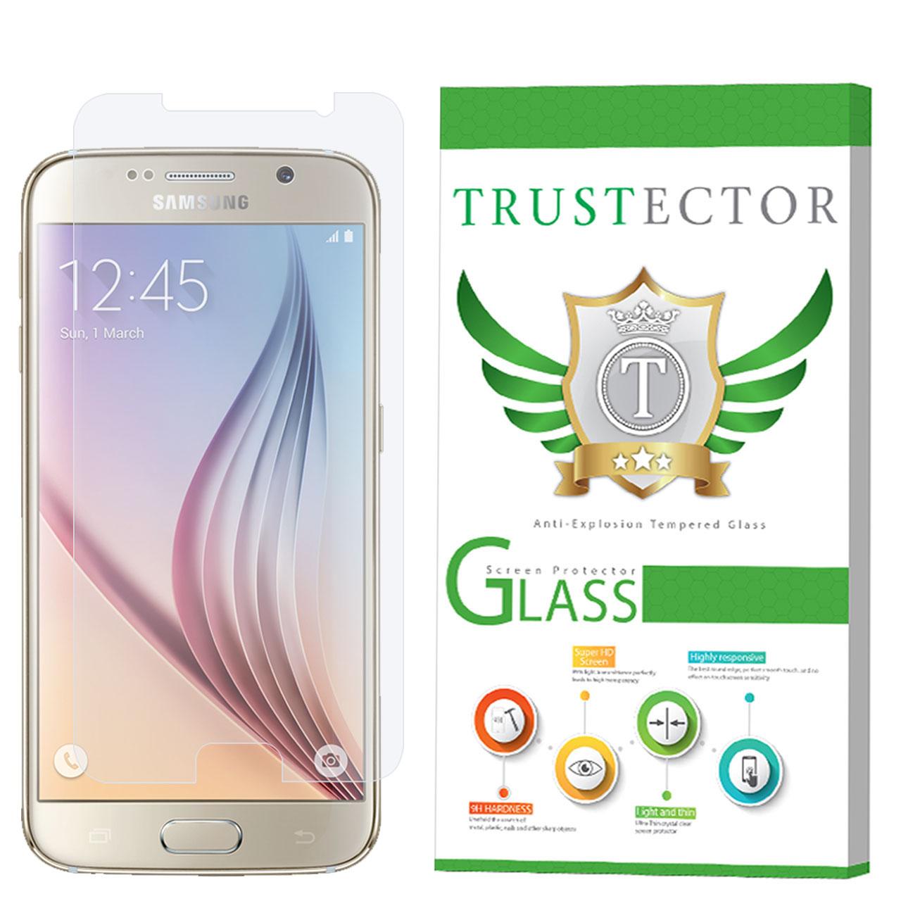 محافظ صفحه نمایش تراستکتور مدل GLS مناسب برای گوشی موبایل سامسونگ Galaxy S6