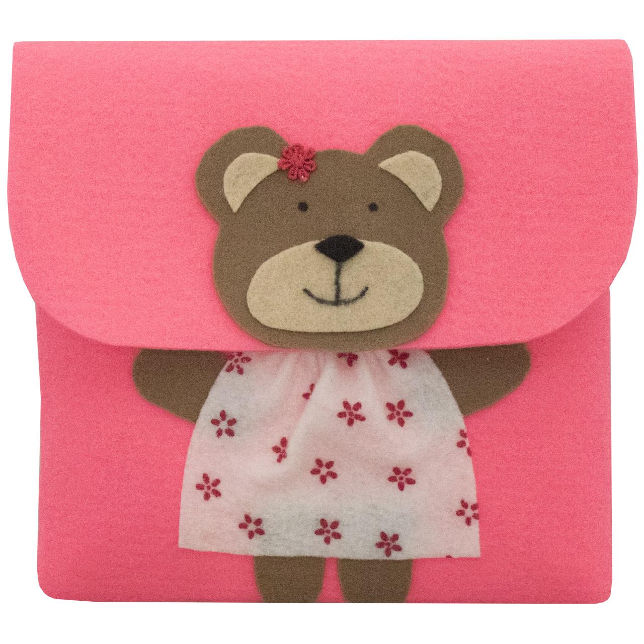 کیف دخترانه طرح خرس مدل Bg-45