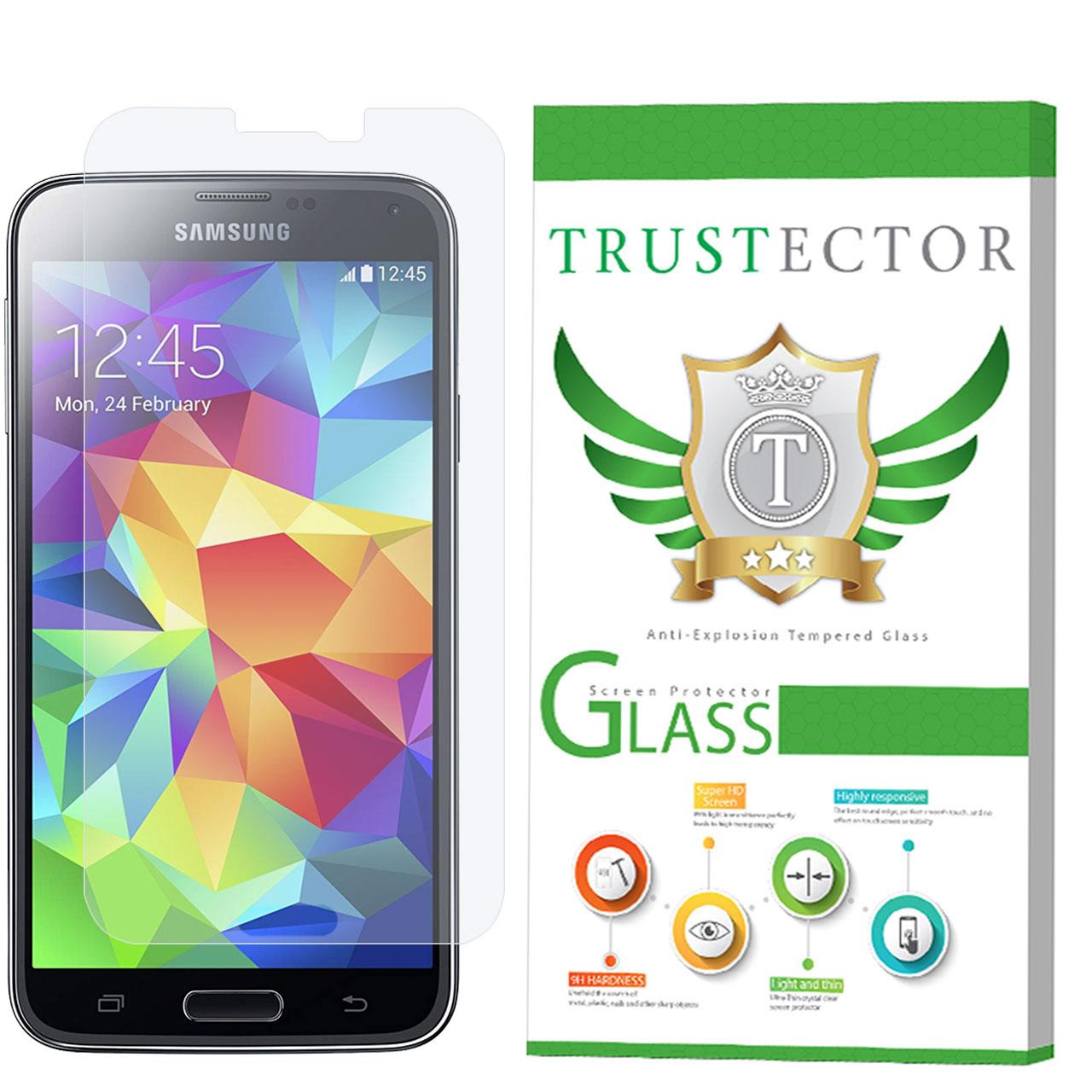 محافظ صفحه نمایش تراستکتور مدل GLS مناسب برای گوشی موبایل سامسونگ Galaxy S5