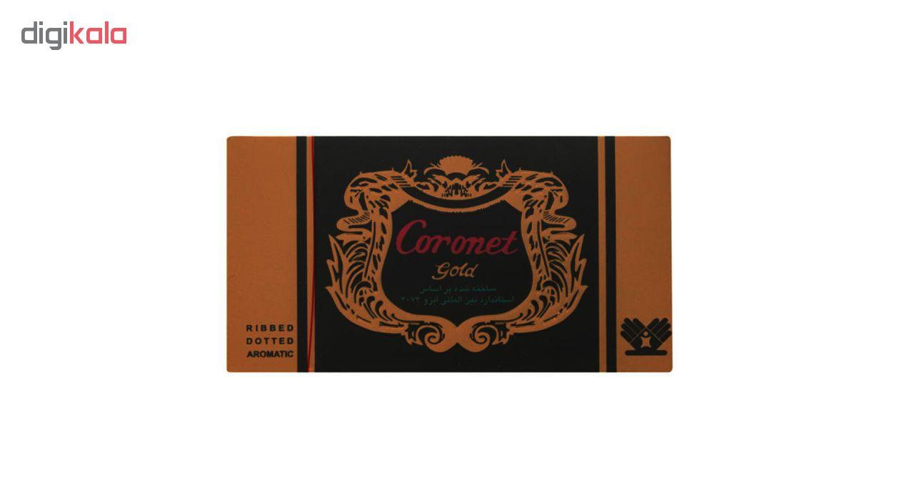 کاندوم خاردار کرونت مدل Golden مجموعه 2 عددی