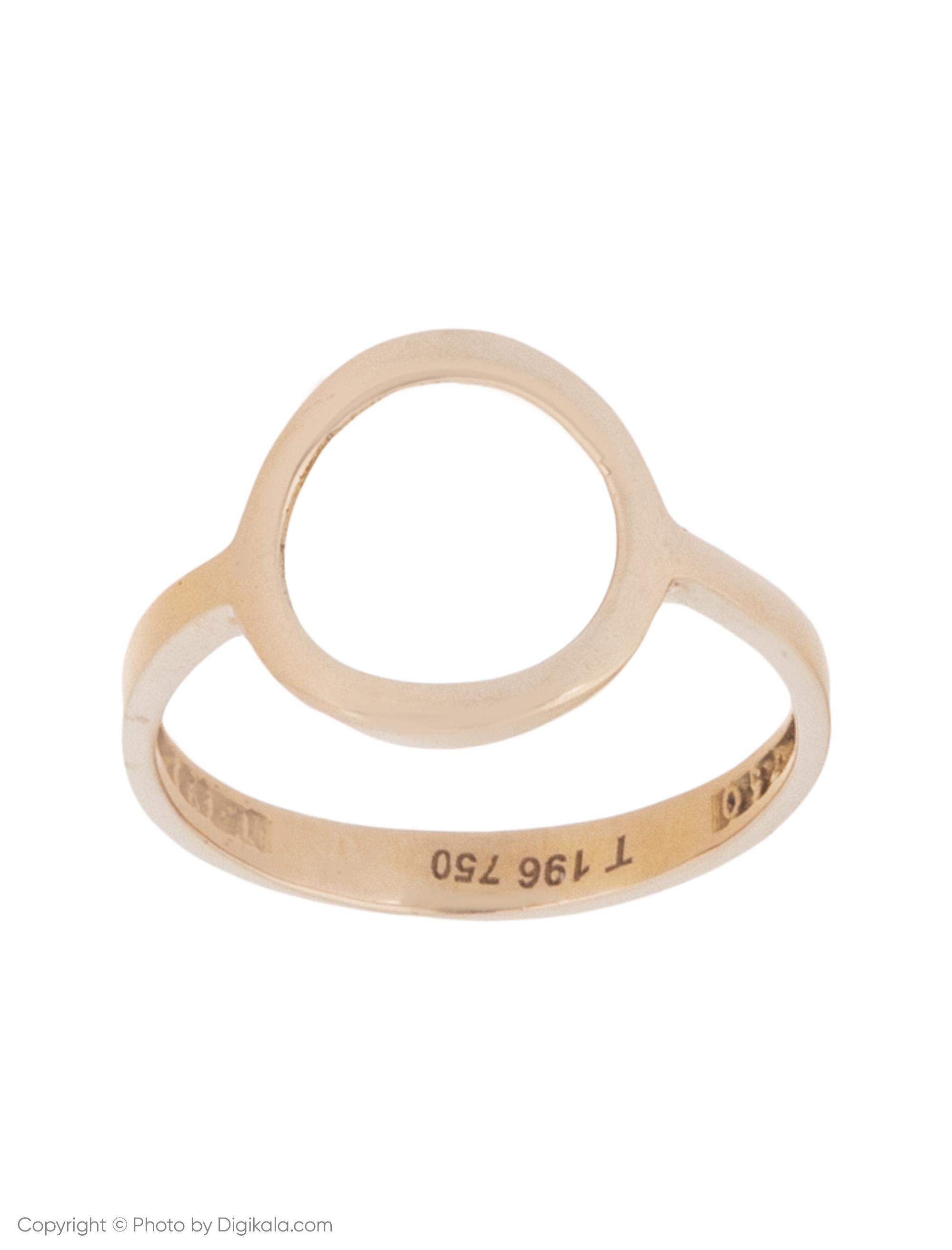 انگشتر طلا 18 عیار زنانه میو استار مدل RG59  Mio Star RG59 Gold Ring For Women