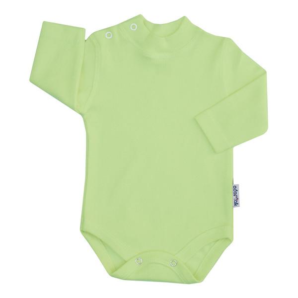 بادی آستین بلند نوزاد آدمک کد 176300 رنگ سبز روشن