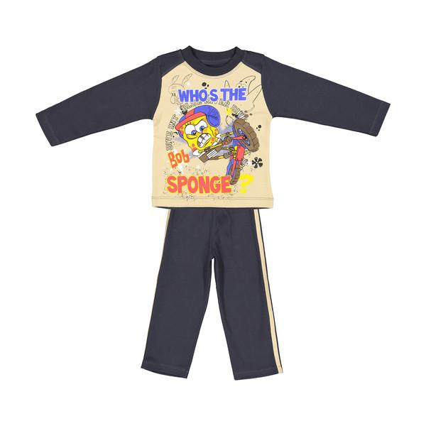 ست تی شرت و شلوار راحتی پسرانه وستیتی مدل Ma103