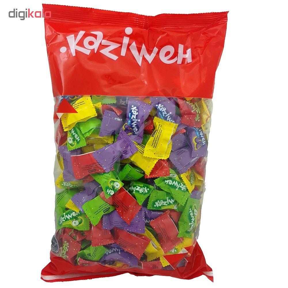 آبنبات میوه ای مخلوط کازیوه مقدار 1 کیلوگرم