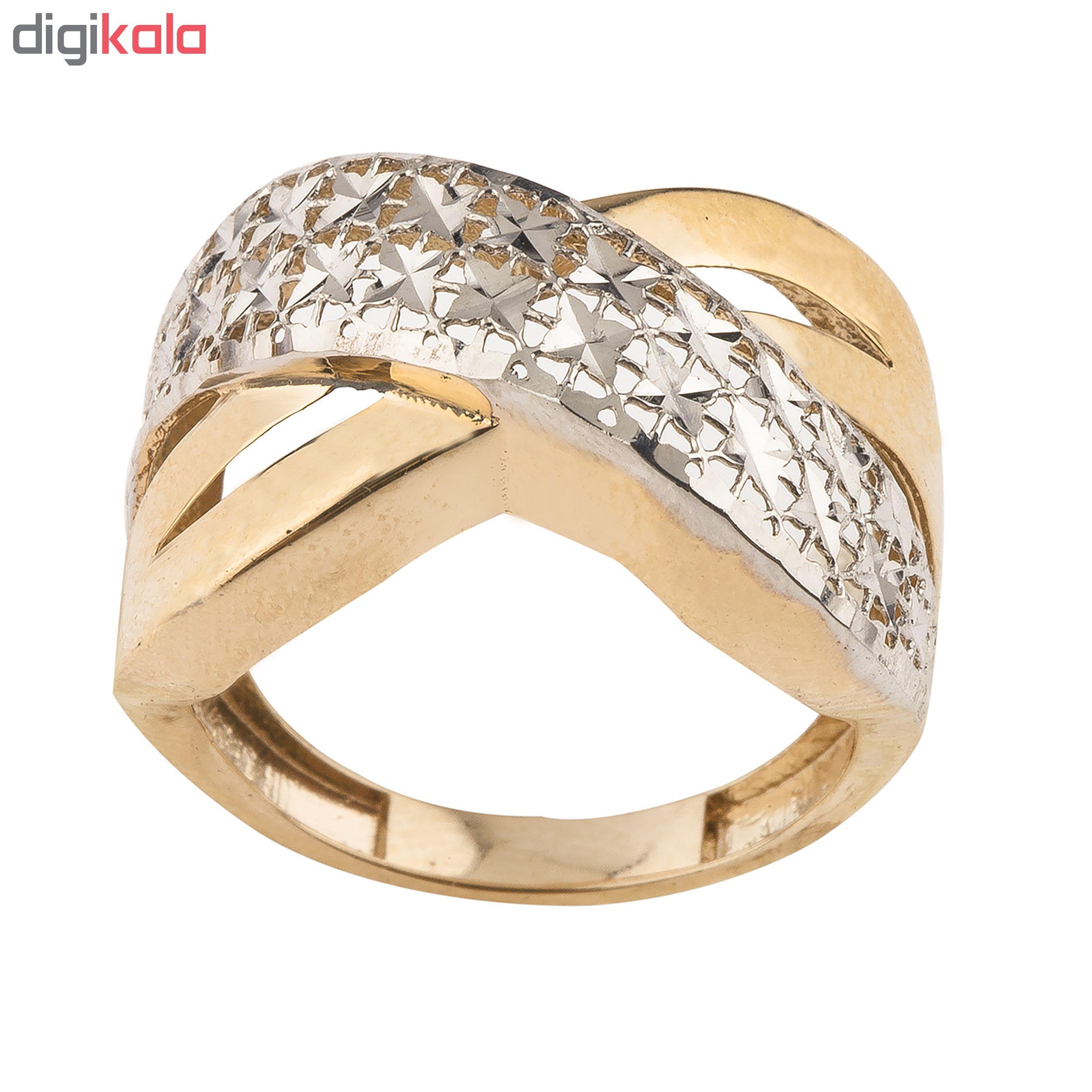 انگشتر طلا 18 عیار زنانه کد R170