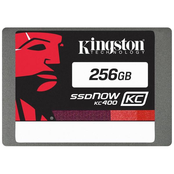 حافظه SSD کینگستون مدل KC400 با ظرفیت 256 گیگابایت به همراه کیت ارتقا