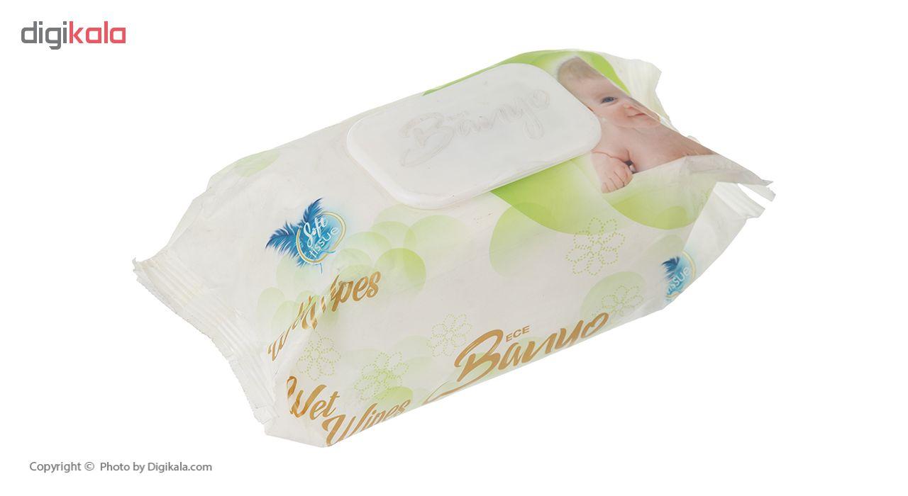 دستمال مرطوب بانیو مدل 002 بسته 120 عددی