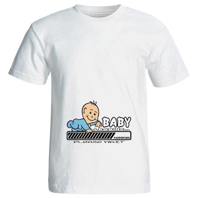 تی شرت بارداری طرح baby کد 3972