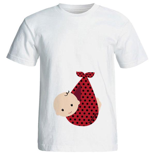 تی شرت بارداری کد 3971