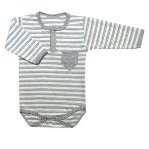 بادی آستین بلند نوزاد کد ZB05-18