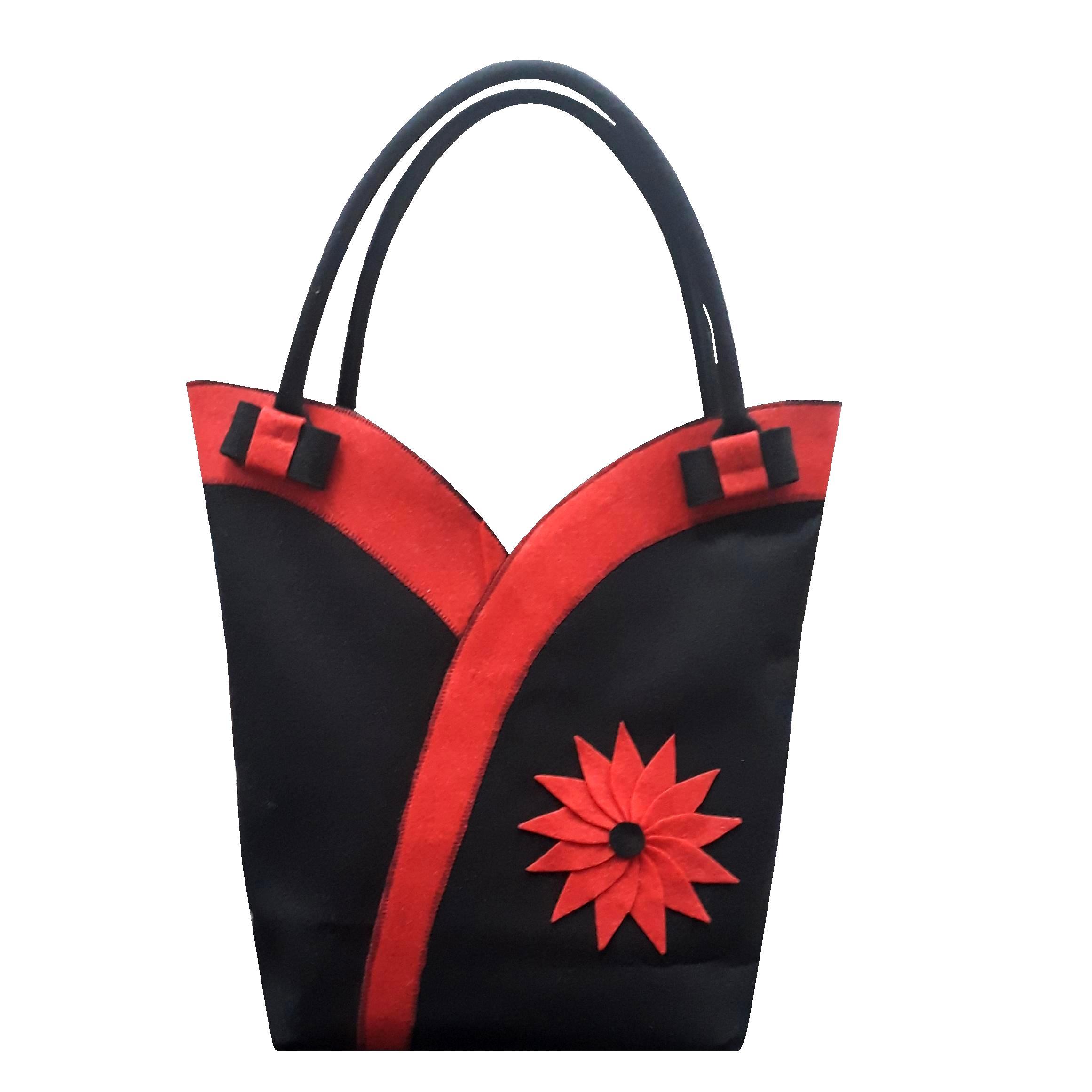 خرید                      کیف دستی نمدی مدل لاله کد 030