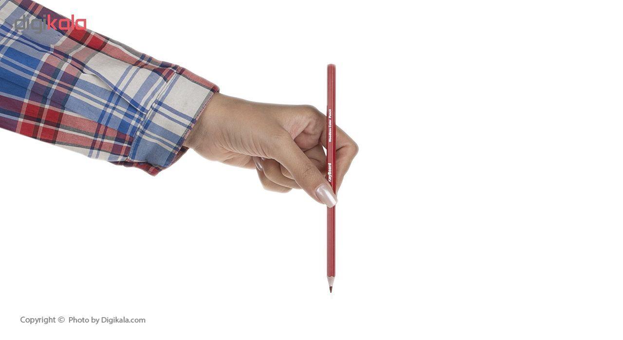 مداد رنگی 12 رنگ کیبورد کد 200469 main 1 8