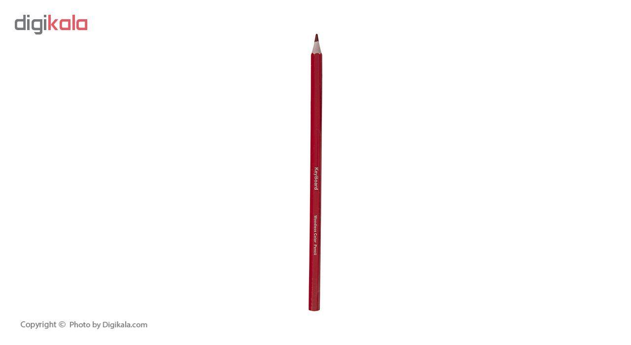 مداد رنگی 12 رنگ کیبورد کد 200469 main 1 7