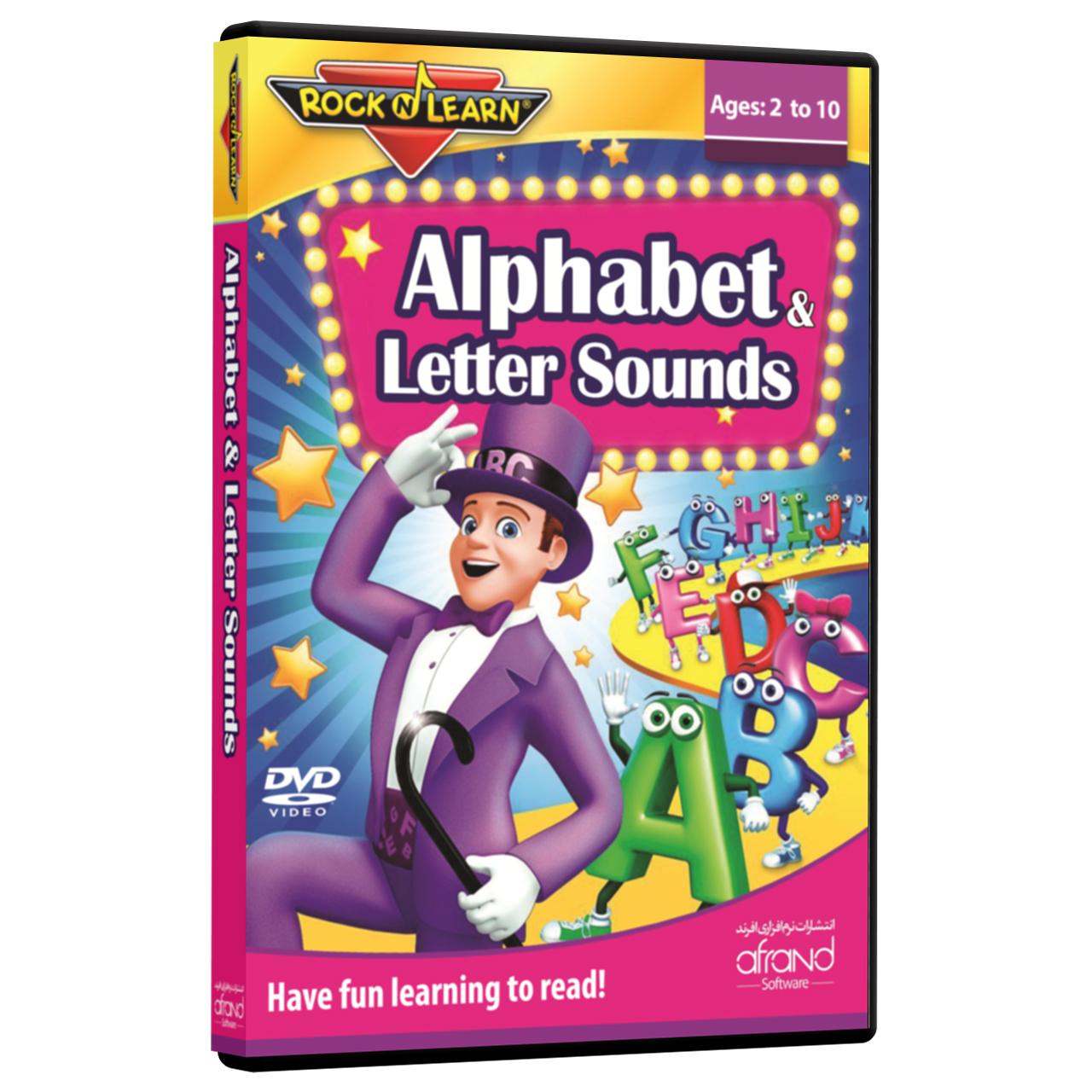 فیلم آموزش زبان انگلیسی RockNLearn Alphabet & Letter Sounds انتشارات نرم افزاری افرند