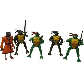 اکشن فیگور طرح لاکپشت های نینجا کد 2629 بسته 5 عددی